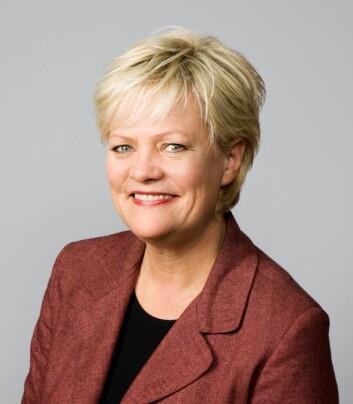 Kunnskapsminister Kristin Halvorsen (Foto: SMK)