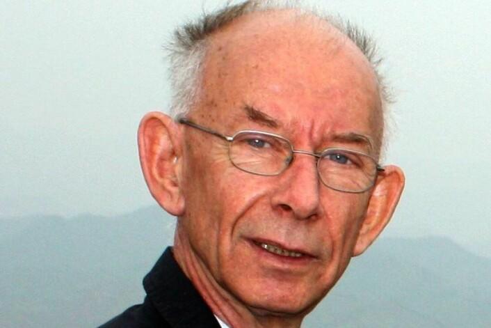Reidar Løvlie (1944 - 2013) var professor ved Institutt for den faste jords fysikk og Institutt for geovitenskap ved Universitetet i Bergen. (Foto: UiB)
