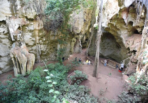 The earliest human burial in Africa has been discovered near Mombasa