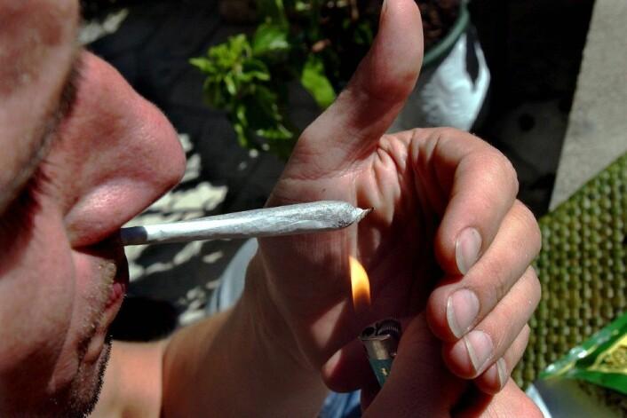 """""""En tidligere studie har vist at unge som begynner å røyke hasj og marihuana tidlig får lavere IQ. Men holder årsakssammenhengen vann? En norsk økonom tviler."""" (Foto: Colourbox)"""