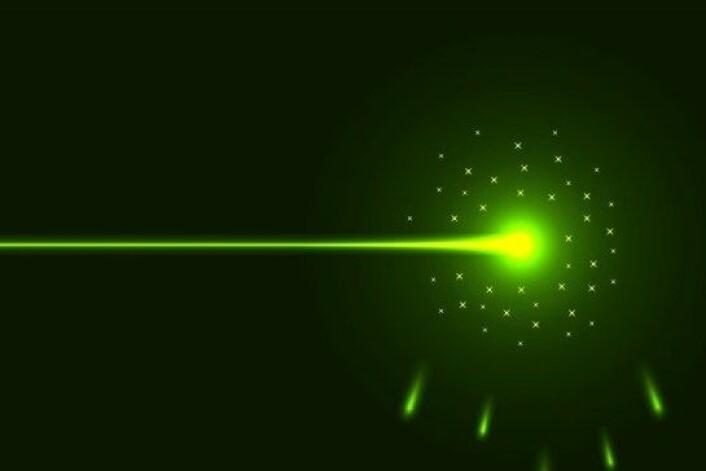 Kan lys tiltrekke seg objekter? - Ja, sier forskerne, som nå har utviklet en metode for å gjøre nettopp det. (Foto: Colourbox)