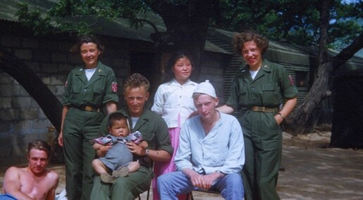 Forsker på sykepleiernes historie fra Koreakrigen