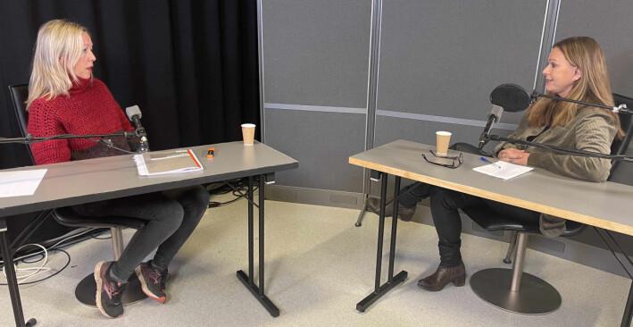 Professor Kristin Bergtora Sandvik (t.v) og førsteamanuensis Anne Kjersti Befring, begge fra Det juridiske fakultet ved UiO.
