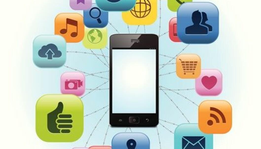 Vi bruker veldig mye tid på sosiale medier. (Illustrasjon: Photos.com)