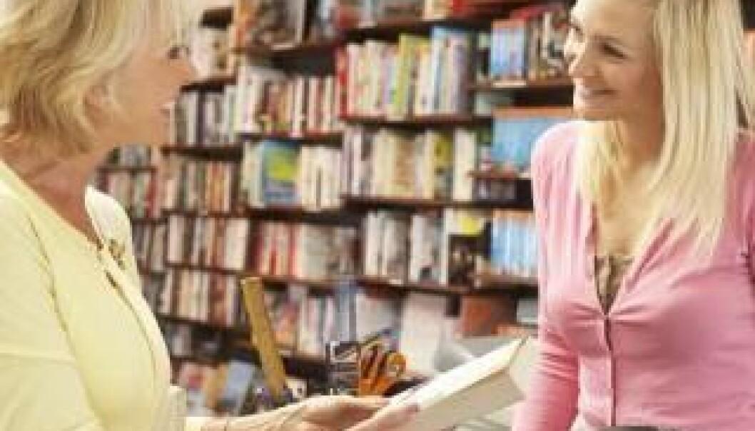 Selgere vil gjerne bygge gode relasjoner med kundene. (Illustrasjonsfoto: www.colourbox.no)