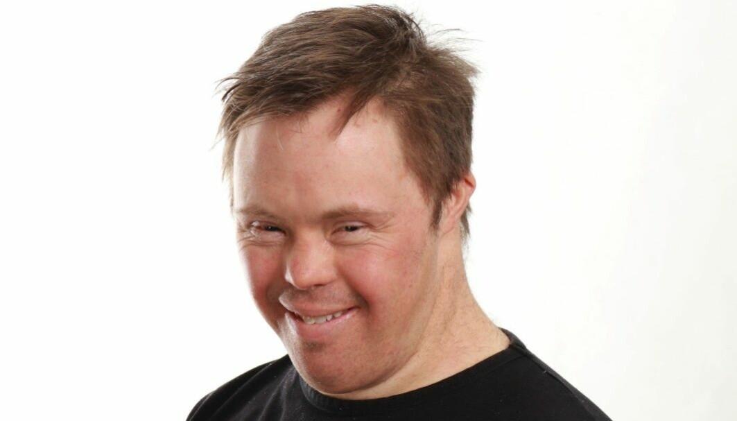 Ole Magnus Oterhals, som har en psykisk utviklingshemming, har vært medforsker ved Høgskolen i Molde siden 2010.