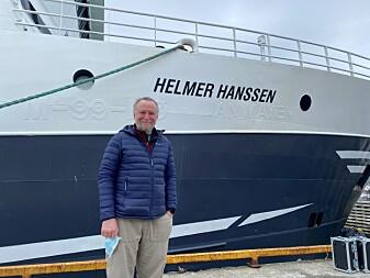 Rolf Gradinger, UiT, er klar for å lede toktet til Barentshavet.