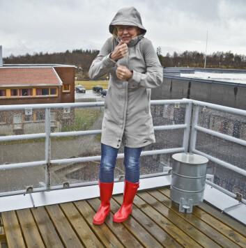 - I Nord-Norge er vi vant til store variasjoner i været, men klima og vær er altså ikke det samme, sier Grete Hovelsrud. (Foto: Trude Landstad)