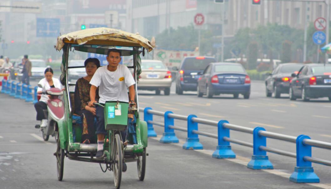 Motiv fra Chengdu, hovedstad i provinsen Sichuan vest i Kina. (Illustrasjonsfoto: Colourbox)