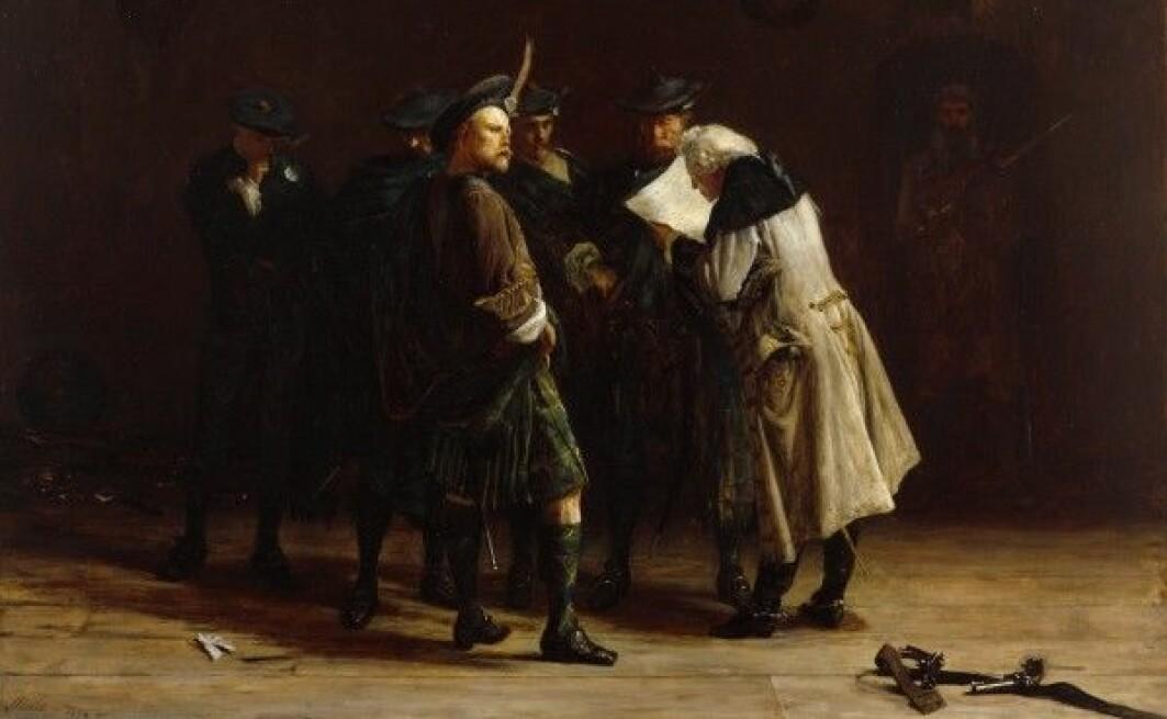 Jakobittene ville ha Jakob VII av Skottland og II av England tilbake på tronen og gjorde opprør mot britene. De kartla områdene der jakobittene gjemte seg.