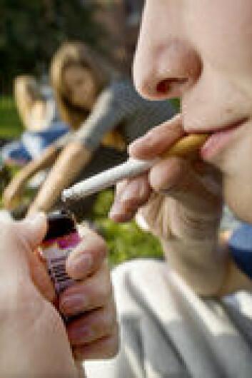Det er sammenheng mellom impulsivitet og røykestart. (Foto: SIRUS)
