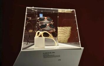 Solbriller designet for personlig tilpasning, av Kathinka Bene. (Foto: AHO)