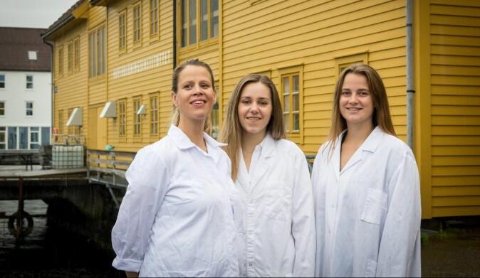 Forsker Inger Aakre har sammen med masterstudentene Dina Solli og Lidunn Evensen undersøkt tang- og tareprodukter. I tillegg undersøkte de hva som skjer hos dem som har tang og tare i kostholdet sitt.