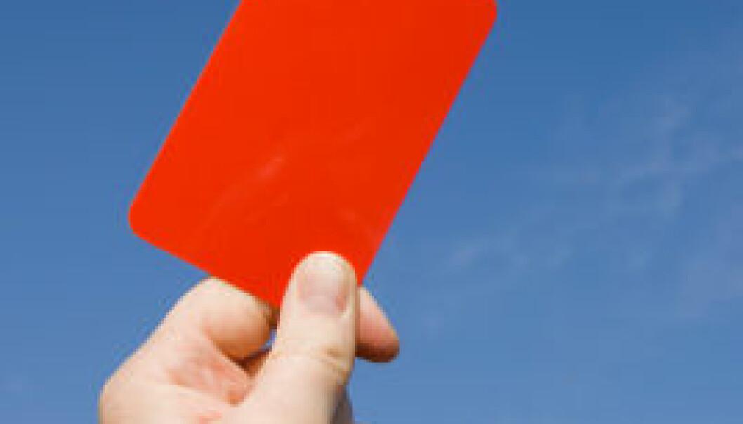 Rødt kort mot skader?