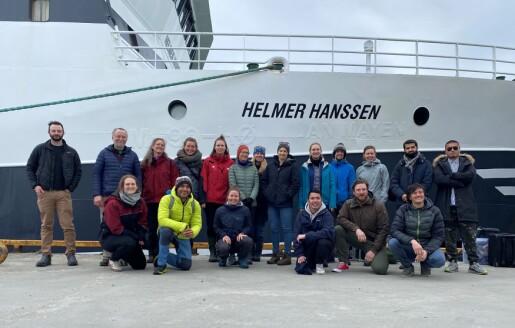 Fyrstehandserfaring om bord FF Helmer Hanssen