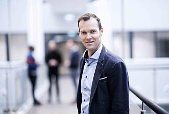 Grunder og daglig leder Svein Kvernstuen i Beyonder.