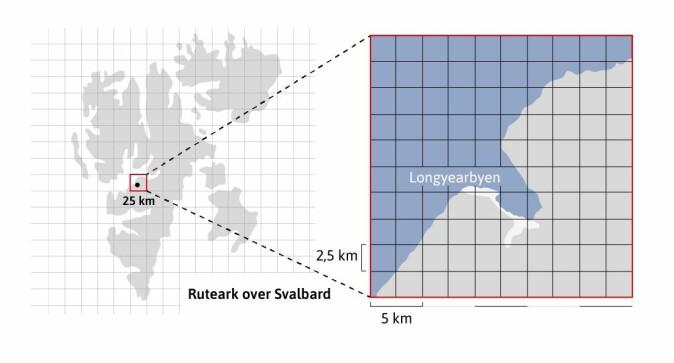 Bak alle værvarsel ligger en numerisk modell der Norge er delt inn i et rutenett og været beregnes innenfor hver rute.