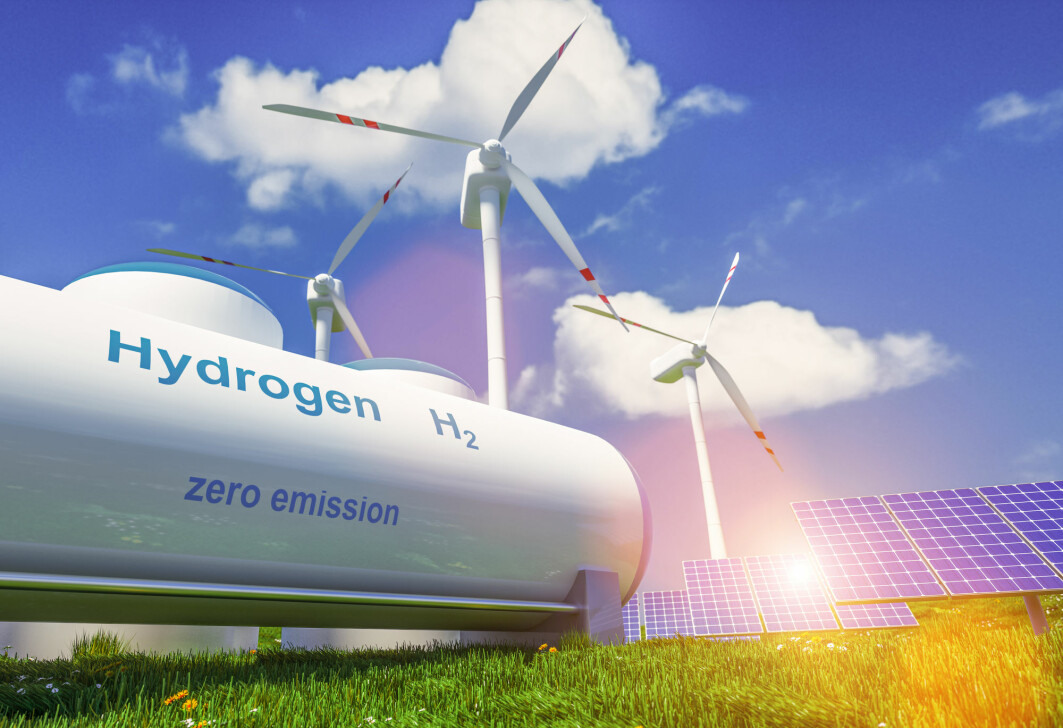 – Det fine med hydrogen er at når vi bruker energien som finnes der, går hydrogenet bare tilbake til vann. Og alt skjer helt utslippsfritt, sier kjemiprofessor Truls Norby.