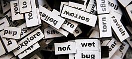 Telling av ord viser hvordan de endrer betydning over tid