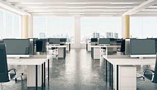Krise i kontormarkedet