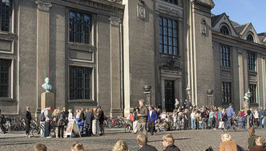 Københavns Universitet er nr 45 på en liste over verdens beste universiteter. (Foto: Heine Pedersen)