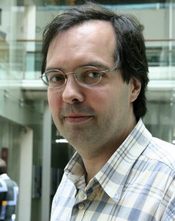 Philippe Walter, Centre de recherche et de restauration des museés de France. (Foto: Ingrid Spilde)