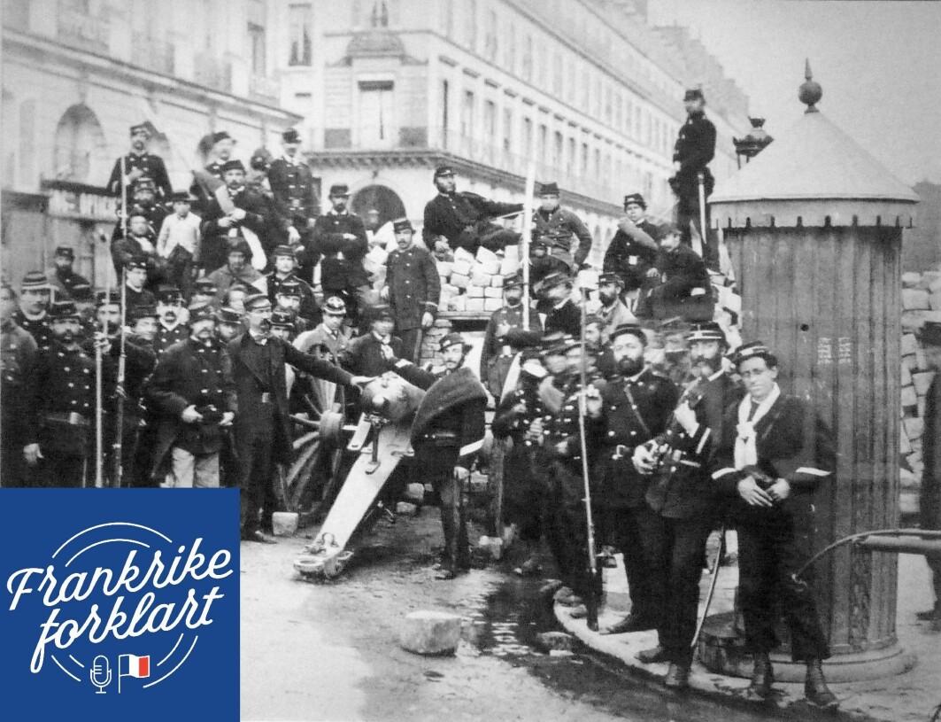 Pariskommunen var det revolusjonære folkestyret som ble opprettet i Paris i protest mot den nasjonale regjering ved slutten av Den fransk-prøyssiske krig. Kommunen ble opprettet 18. mars og eksisterte i 72 dager frem til 28. mai 1871.