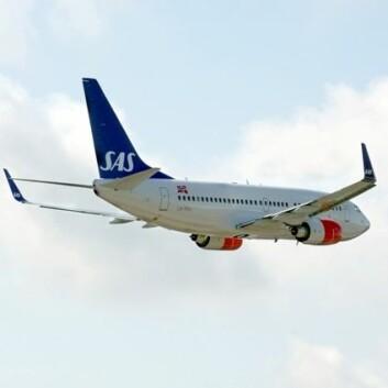 SAS-fly. (Foto: SAS)