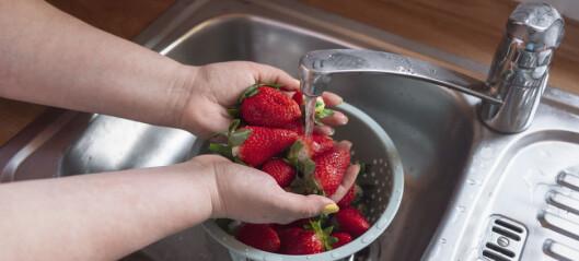 Dette er den beste måten å vaske bær på