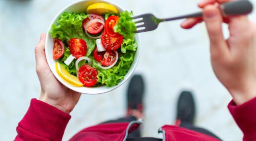 Er vegetarmat bra om du trener mye?