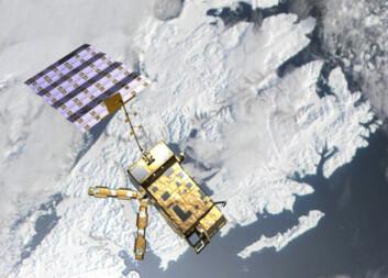"""""""Værsatellitten MetOp skal gå i polar bane, og vil passere Nordpolen 14 ganger i døgnet. Satellitten kommer til å vil gi flere og bedre observasjoner av værsituasjonen i blant annet Norge."""""""