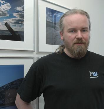 Stipendiat Jan Ingolf Kleppe. (Foto: Maja Sojtaric)