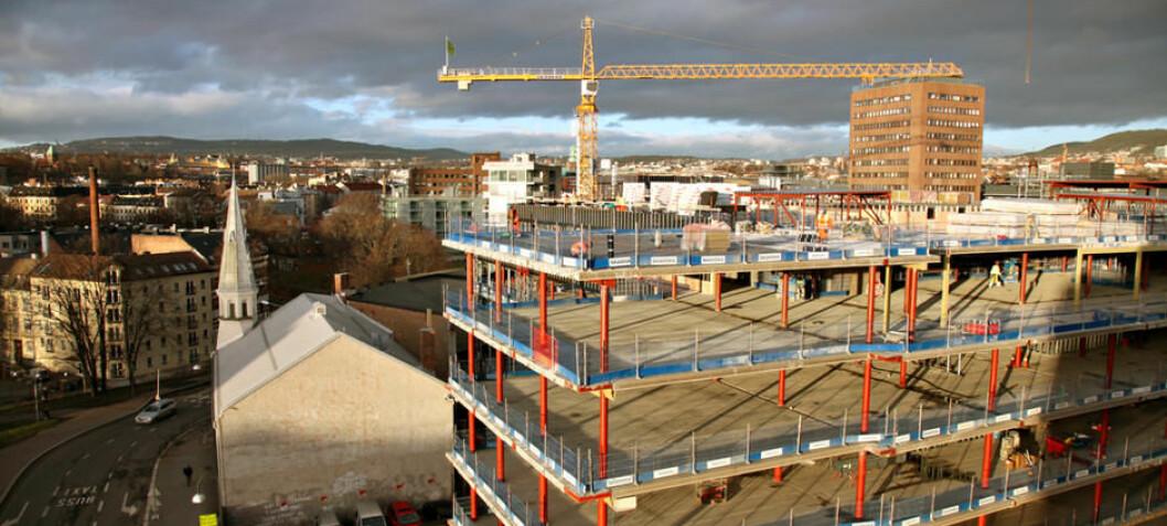 Hva må til for at byggebransjen i Oslo skal bygge nye bygg med deler fra en gammel leilighet?
