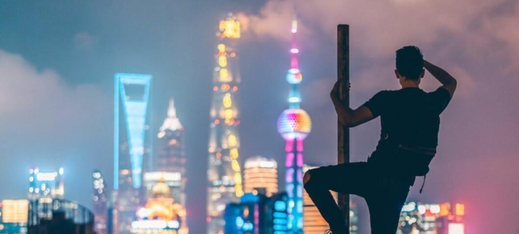 Kina sikter mot toppen