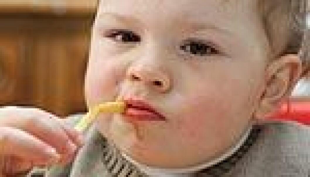 Norske barn blir tykkere