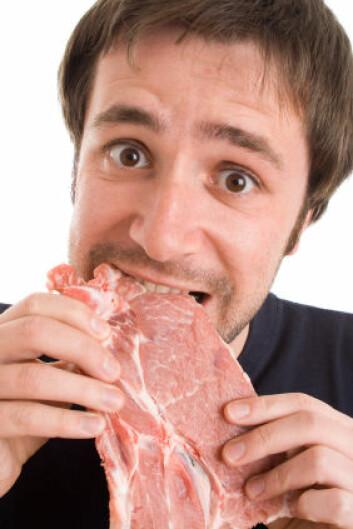 Pass deg for rått kjøtt, om du har tendenser til kjøttallergi (Foto: iStockphoto)