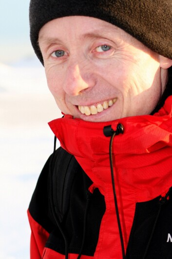 Jón Egill Kristjánsson.(Foto: Gudmund Dalsbø)