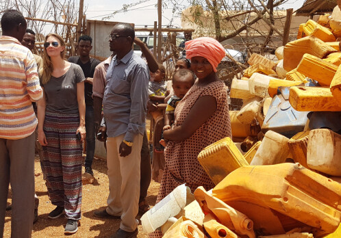 Establishing a plastics recycling plant in a refugee camp in Ethiopia