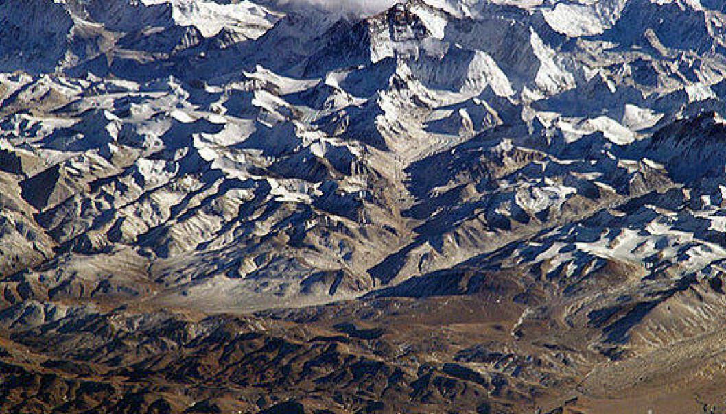 Himalaya. (Foto:NASA/Wikimedia Commons)