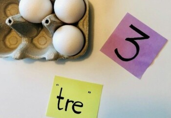 Tre ting som er tre! (Foto: Tonje Amland)
