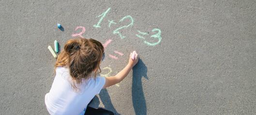 Fire nøkler til barnets første regnestykker