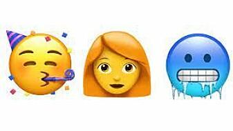 I dag er emojier veldig populære. Mange bruker dem hele tiden. Emojier er bildeskrift – akkurat som hieroglyfene. Kanskje likte de gamle egypterne emoji-språket sitt så godt at de ikke ville bytte det ut?