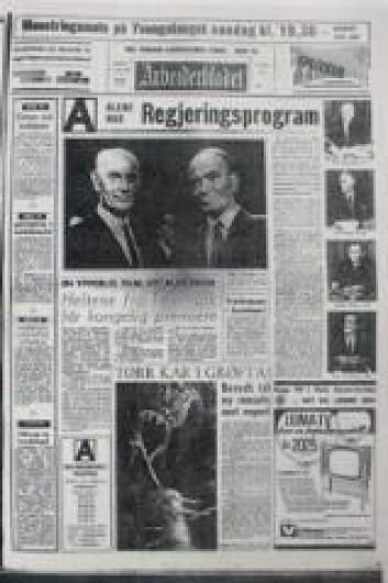 """Arbeiderbladet var en typisk partiavis."""
