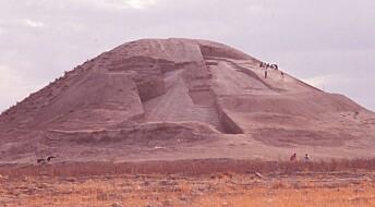 Flere titalls mennesker er gravlagt inne i dette over 4000 år gamle monumentet i Syria