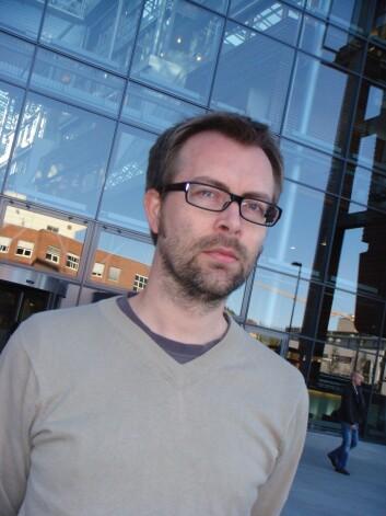 Thomas Hoholm forsker på innovasjon. (Foto: Audun Farbrot)