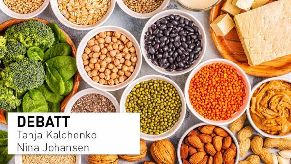 Protein fra bønner er både fullverdig og sunnere, også for eldre mennesker