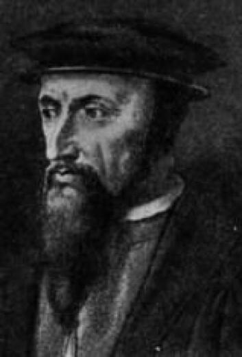 """""""Reformatorer som Jean Calvin (1509-1564), med sin strenge predestinasjonslære, fikk stor innflytelse på den økonomiske utviklingen."""""""