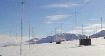 Beam me up, Svalbard: SPEAR-anlegget på Svalbard ligger ved 78,15 grader nord. (Foto: SPEAR)