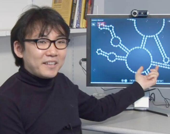Jeehyung Lee, sjefsdesigner for EteRNA (Foto: Carnegie Mellon University)