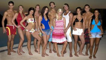 De norske deltagerne i Paradise Hotel. (Foto: TV3)